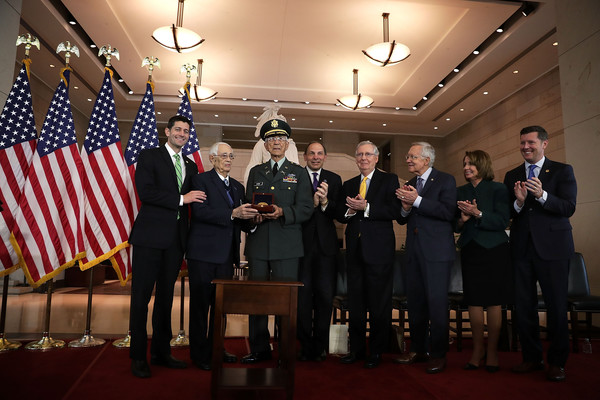 Congressional Gold Medal Awarded to Puerto Rican Military Unit at US Capitol