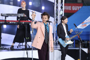 "Harry Styles performs on NBC's ""Today"" during  at Rockefeller Plaza on February 26, 2020 in New York City."