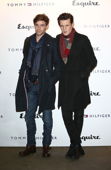 Tommy Hilfiger & Esquire - London Collections: MEN AW13 [men aw13,collections,clothing,fashion,suit,formal wear,outerwear,footwear,event,fashion design,premiere,blazer,tommy hilfiger,harry treadaway,matt smith,part,london,england,esquire,event]