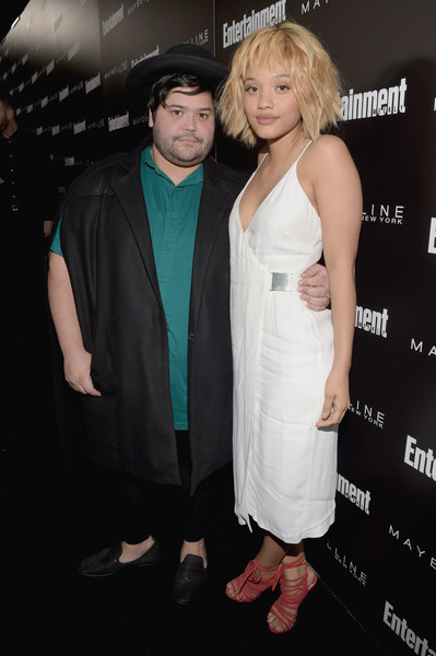 Entertainment Weekly Celebration Honoring The Screen Actors Guild Nominees Presented By Maybelline At Chateau Marmont In Los Angeles - Red Carpet [red carpet,premiere,dress,hairstyle,shoulder,cocktail dress,fashion,blond,event,joint,formal wear,harvey guillen,nominees,kiersey clemons,chateau marmont,los angeles,maybelline,screen actors guild,l,entertainment weekly celebration]