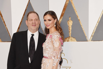 Harvey Weinstein Georgina Chapman 88th Annual Academy Awards - Red Carpet Pictures