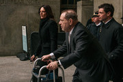 Harvey Weinstein leaves New York City Criminal Court with lawyer Donna Rotunno on January 13, 2020 in New York City. Weinstein, a movie producer whose alleged sexual misconduct helped spark the #MeToo movement, pleaded not-guilty on five counts of rape and sexual assault against two unnamed women and faces a possible life sentence in prison.