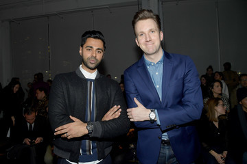 Hasan Minhaj Todd Snyder - Front Row - February 2018 - New York Fashion Week: Mens'