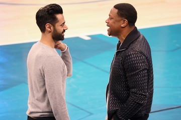 Hasan Minhaj Celebrities Attend The 68th NBA All-Star Game - Inside