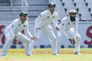 Hashim Amla South Africa v Australia - 4th Test: Day 5