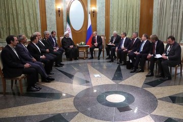 Hassan Rouhani Putin Says Planned Syria Congress Aims to Boost UN Peace Talks