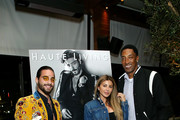 (L-R) Maluma, Larsa Pippen, and Scottie Pippen attend the Haute Living Celebrates Maluma with JetSmarter and Ciroc at The Highlight Room at the Dream Hollywood on May 15, 2018 in Hollywood, California.