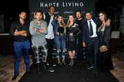 (L-R) Sunny Gyani, Crime by Design, Scottie Pippen, Larsa Pippen, Claudia Leitte, Marcio Pedreira, Kamal Hotchandani, and Deyvanshi Masrani attend the Haute Living Celebrates Maluma with JetSmarter and Ciroc at The Highlight Room at the Dream Hollywood on May 15, 2018 in Hollywood, California.