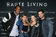 (L-R) Scottie Pippen, Larsa Pippen, Claudia Leitte, and Marcio Pedreira attend the Haute Living Celebrates Maluma with JetSmarter and Ciroc at The Highlight Room at the Dream Hollywood on May 15, 2018 in Hollywood, California.