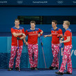 Havard Vad Petersson Curling - Winter Olympics Day 5