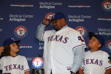 Haven Fielder Texas Rangers Introduce Prince Fielder