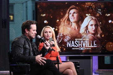 Hayden Panettiere Build Presents Charles Esten & Hayden Panettiere Discussing 'Nashville'
