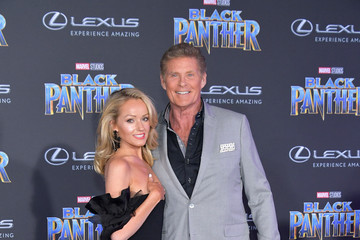 Hayley Roberts Premiere Of Disney And Marvel's 'Black Panther' - Arrivals