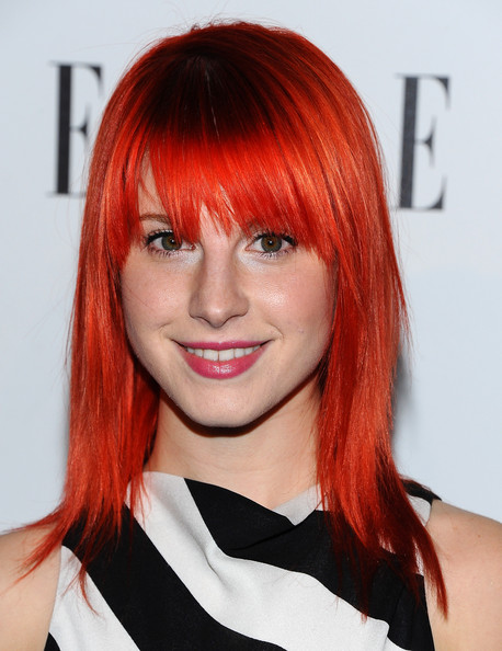 Hayley Williams Musician Hayley Williams arrives at ELLE's 2nd Annual Women In Music Event at Music Box on April 11, 2011 in Hollywood, California.
