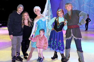 Haylie Duff Disney On Ice Presents 'Dare To Dream' Celebrity Skating Party