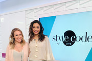 Haylie Duff Appears on Amazon's Style Code Live
