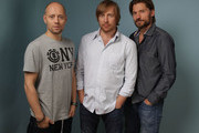 """Actor Aksel Hennie, Director Morten Tyldum and Actor Nikolaj Coster-Waldau of """"Headhunters"""" pose during the 2011 Toronto Film Festival at Guess Portrait Studio on September 11, 2011 in Toronto, Canada."""