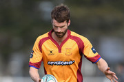 Craig Smith of North Otago kicks the ball during the round one Heartland Championship match between Mid Canterbury and North Otago at Ashburton Showground on August 27, 2016 in Ashburton, New Zealand.