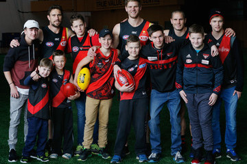 Heath Hocking Essendon Bombers Media Opportunity