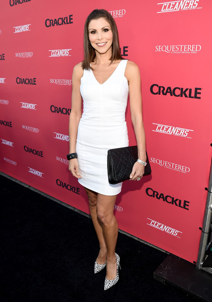 Heather Dubrow Pictures Crackle Summer Premieres Event