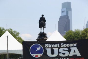 Heather Mitts Inaugural Street Soccer USA Philadelphia Cup