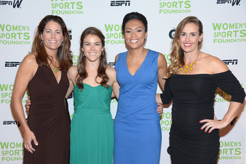 Heather Mitts Arrivals at the Salute to Women in Sports Awards