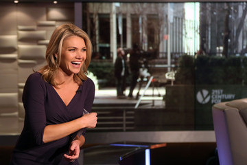 Heather Nauert Valerie Harper Visits the FOX Studios