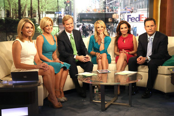 Heather Nauert Kellie Pickler Visits 'FOX & Friends'