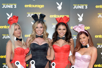 Heather Rae Young 'Entourage' Advance Screening at the Playboy Mansion