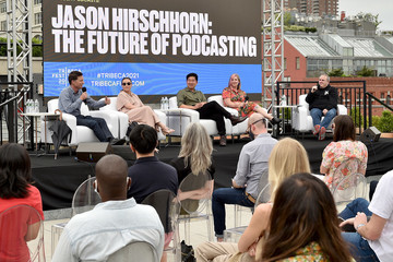 Heather Taylor Audible's Rachel Ghiazza, EVP, Head of US Content, joins The Future of Podcasting panel moderated by Jason Hirschhorn - Tribeca Festival 2021