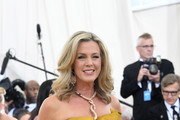 Journalist Deborah Norville attends the Heavenly Bodies: Fashion & The Catholic Imagination Costume Institute Gala at The Metropolitan Museum of Art on May 7, 2018 in New York City.