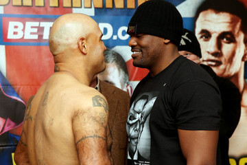 Hector Avila Nathan Cleverly v Robin Krasniqi Weigh-In