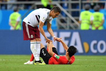 Hector Moreno Korea Republic vs. Mexico: Group F - 2018 FIFA World Cup Russia