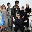 Heidi Klum Christian Siriano Fall Winter 2020 NYFW - Front Row