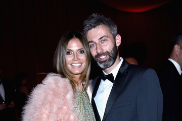 Heidi Klum Milan Blagojevic 26th Annual Elton John AIDS Foundation Academy Awards Viewing Party sponsored by Bulgari, celebrating EJAF and the 90th Academy Awards - Red Carpet