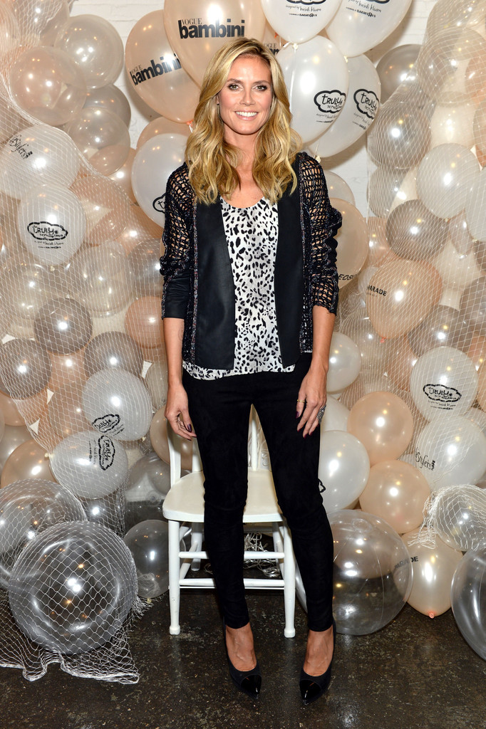 Heidi Klum Presents Her Holiday Truly Scrumptious Collection For Babies