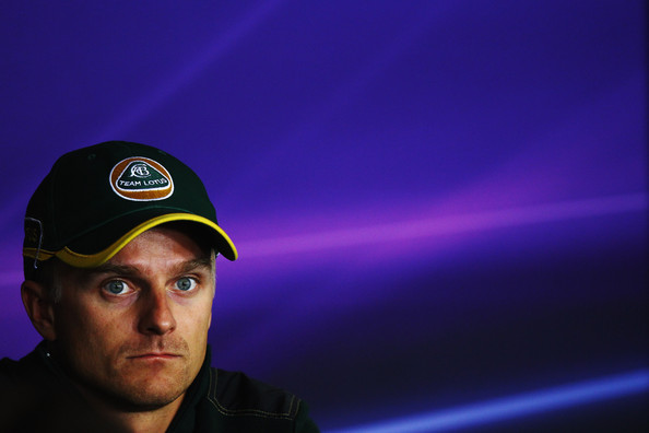 Heikki Kovalainen Heikki Kovalainen of Finland and Team Lotus attends the drivers press conference during previews to the Hungarian Formula One Grand Prix at the Hungaroring on July 28, 2011 in Budapest, Hungary.