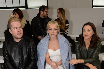 Helen George Front Row & Celebrities: Day 2 - LFW AW16