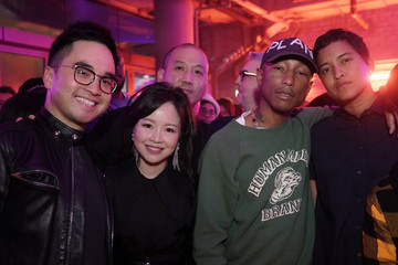 Helen Lasichanh Adrien Cheng And Pharrell Williams Celebrate The Jewelry Of Lorraine Schwartz At The New Artus