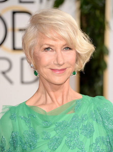 Helen Mirren - 71st Annual Golden Globe Awards - Arrivals
