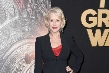Helen Mirren Premiere Of Universal Pictures' 'The Great Wall' - Arrivals