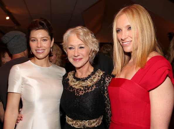 """Premiere Of Fox Searchlight Pictures' """"Hitchcock"""" - After Party [hair,blond,fashion,lady,beauty,event,hairstyle,shoulder,dress,cocktail dress,jessica biel,hitchcock,toni collette,helen mirren,l-r,fox searchlight pictures,party,premiere,party,premiere]"""
