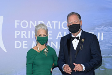 Helen Mirren Taylor Hackford Monte-Carlo Gala For Planetary Health : Photocall