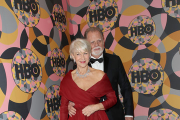 Helen Mirren Taylor Hackford HBO's Official Golden Globes After Party - Arrivals