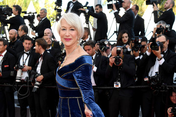 Helen Mirren 'Girls Of The Sun (Les Filles Du Soleil)' Red Carpet Arrivals - The 71st Annual Cannes Film Festival