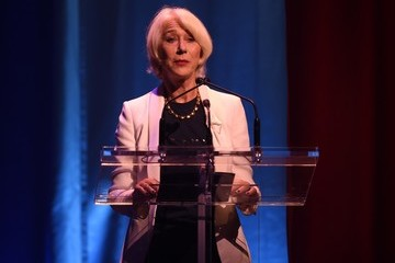 Helen Mirren Fundraiser Event Held for Hillary Clinton's Presidential Campaign in Manhattan