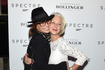 Helen Mirren 'Spectre' Pre-Release Screening Hosted By Champagne Bollinger With The Cinema Society - Arrivals