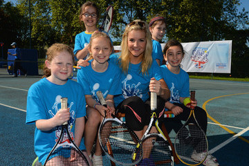 Helen Skelton The Great British Tennis Weekend Launch
