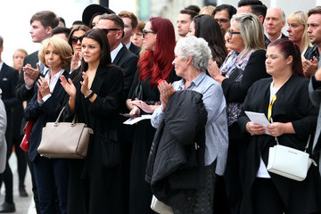 Helen Worth Funeral Takes Place Of Martyn Hett Killed In The Manchester Arena Terror Attack
