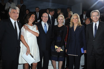 Helene Mercier Celebs at the Dior Cruise Collection